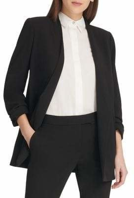 DKNY Classic Open-Front Blazer