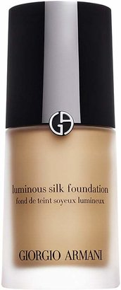 Armani Women's Luminous Silk Foundation - Beige $64 thestylecure.com