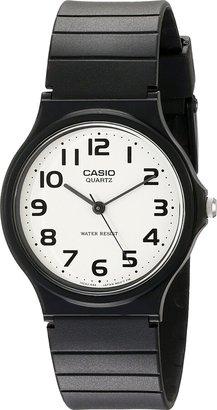 Casio Men's Classic Quartz Watch with Resin Strap Black 20 (Model: EAW-MQ-24-7B2)