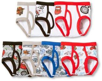 Disney Toddler Boy' 7 Pack Underwear Car 2T-3T