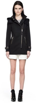 Mackage Darby Black Trench Coat