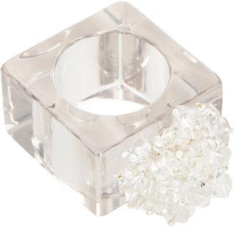 Daisy Hill Acrylic Square Napkin Ring