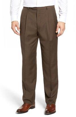 Linea Naturale Pleated Microfiber Dress Pants $99.50 thestylecure.com