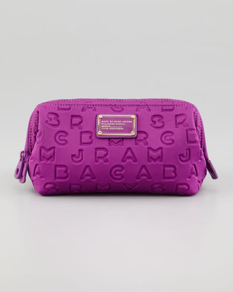 Marc by Marc Jacobs Dreamy Logo Cosmetic Case, Violet