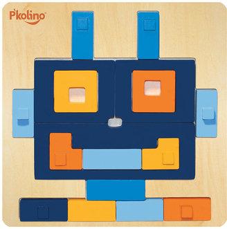 Multi-Solution Shape Puzzle - Robot