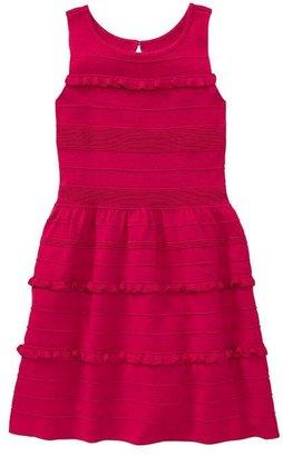Gap Ruffle knit dress