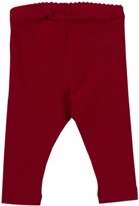 Tea Collection Skinny Stretch Leggings - China Red-3-6 Months