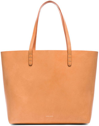 Mansur Gavriel Large Tote in Cammello & Rosa | FWRD