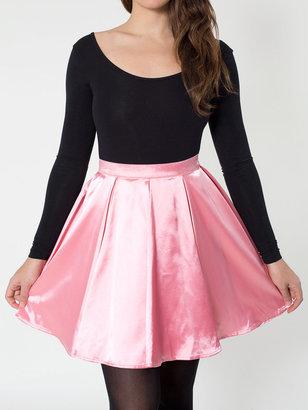 American Apparel Short Charmeuse Gore Skirt