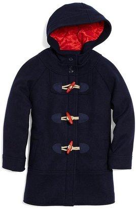 Brooks Brothers Wool Melton Toggle Coat