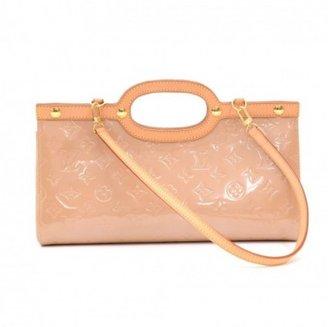 Louis Vuitton excellent (EX Roxbury Drive Brown Vernis Leather Shoulder Bag
