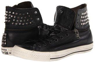 Converse by John Varvatos - Chuck Taylor All Star Zip Off Hi (Black/Turtledove) - Footwear