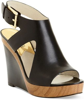 MICHAEL Michael Kors Shoes, Josephine Platform Wedge Sandals
