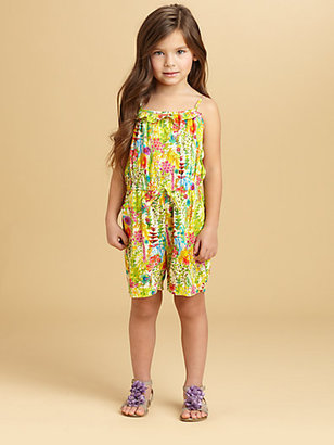 Oscar de la Renta Toddler's & Little Girl's Floral Romper
