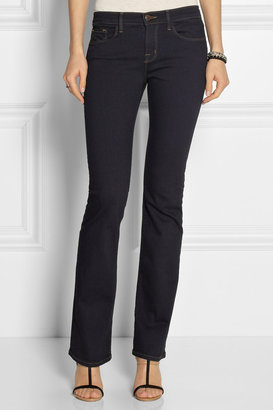J Brand Brooke Power Stretch mid-rise bootcut jeans