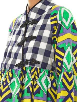 Stella Jean Pamela Onaedo Diamond-print jacket