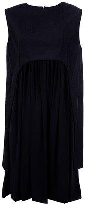 Balenciaga cape dress