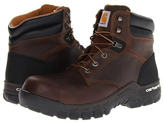 Carhartt 6-Inch Work-Flextm Comp Toe Work Boot (Brown) Men's Work Boots