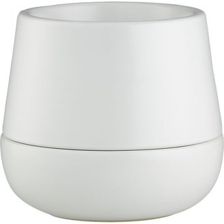 Crate & Barrel Halo Straight-Sided Pot-Saucer