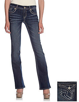 Hydraulic Juniors' Lola Slim Bootcut Jeans with Flap Back Pockets