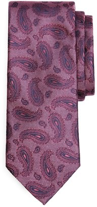 Brooks Brothers Textured Ground Paisley Tie
