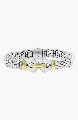 Women's Lagos 'Derby' Two-Tone Caviar Rope Bracelet (Online Only) $950 thestylecure.com