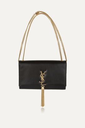 Saint Laurent - Monogramme Leather Shoulder Bag - Black $2,290 thestylecure.com
