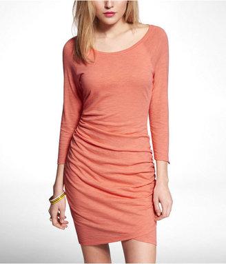Express Tulip Hem Raglan Sleeve Dress
