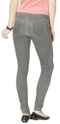 Mossimo Juniors Reversible Skinny Denim - Dark Grey