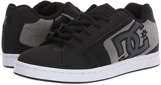 DC Net (Black/Grey 2) Men's Skate Shoes
