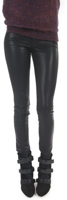 Mother Muse Faux Leather Pant