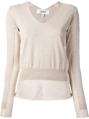Jean Paul Gaultier panel sweater