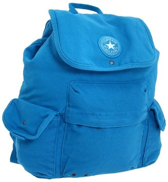 Converse Chuck Taylor Onto the Next Backpack (Blue Leaf) - Bags and Luggage