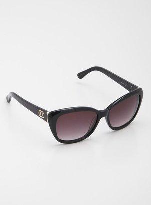 Oleg Cassini Ladies Round Fashion Sunglasses