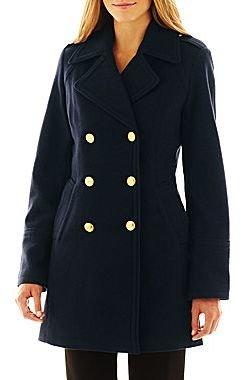JCPenney Worthington Officer Coat