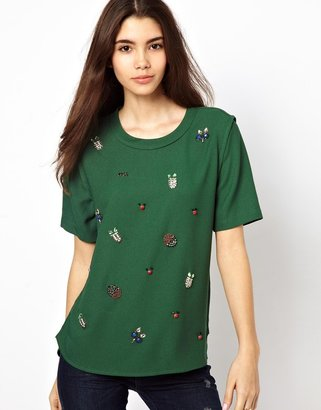 Max C Top With Embellishment