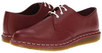 Dr. Martens 1461-C 3-Eye Shoe (Cherry Red Smooth) - Footwear