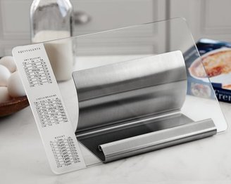 Williams-Sonoma Glass & Stainless-Steel Cookbook Holder
