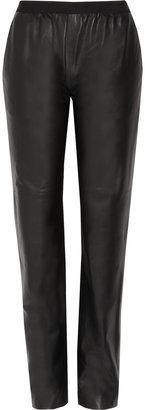 Maison Martin Margiela Tapered leather pants