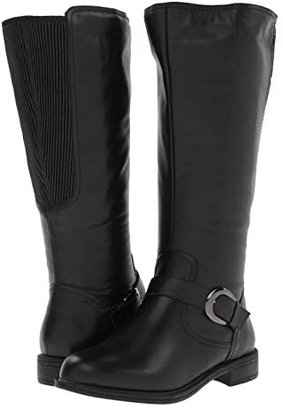David Tate Branson - Extra Wide Shaft (Black) Women's Boots