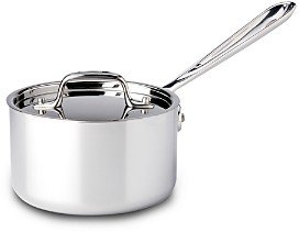 All-Clad Stainless Steel 1.5 Quart Sauce Pan with Lid