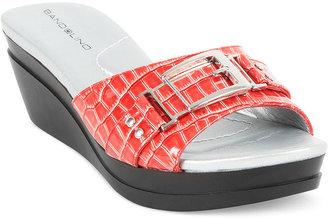 Bandolino Shoes, Yarbo Wedge Slide Sandals
