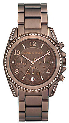 Michael Kors Blair Espresso Chronograph Watch