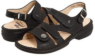 Finn Comfort Gomera - 82562 (Black Leather) Women's Sandals