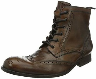 Hudson London Men's Angus Washed Ankle Boots,42 EU