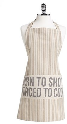 PRIMITIVES BY KATHY 'Born to Shop. Forced to Cook.' Apron