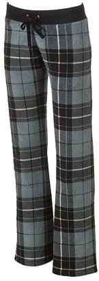 Derek heart plaid plush pants