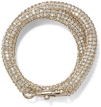 Swarovski Bolster Bracelet, by Christopher Kane