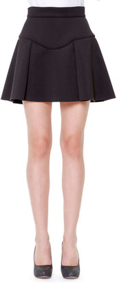 Just Cavalli Flared Scuba Skirt