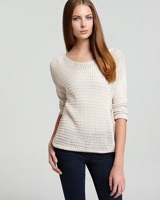 Joie Sweater - Morie Mismatch Stitched